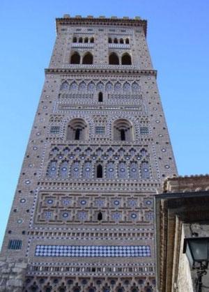 Arte mudéjar .Torre de San Martin. Teruel SXIV