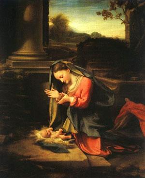 Natividad de Correggio