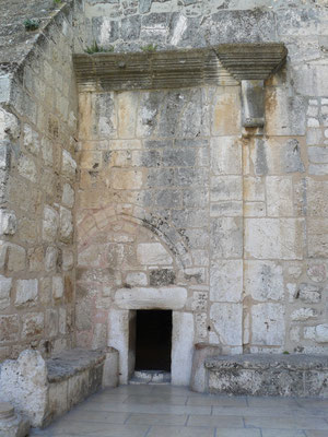 Basílica de Belén. Puerta de entrada