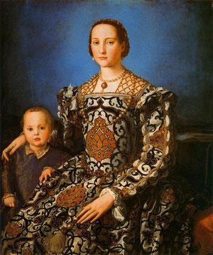 Dña Leonor de Toledo .Il Broncino. Uffici