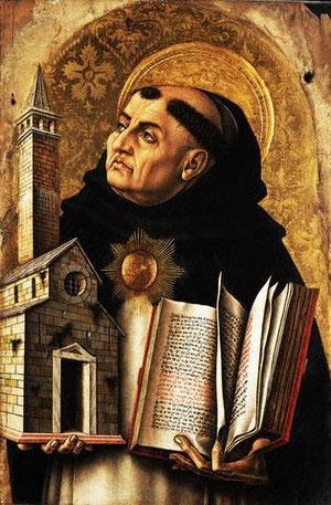 Santo Tomás de Aquino,doctor de la Iglesia