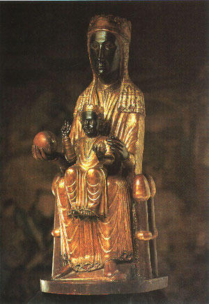 Virgen de Montserrat S.XII
