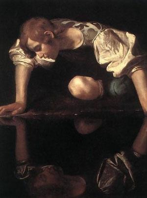 El Narciso. Caravaggio