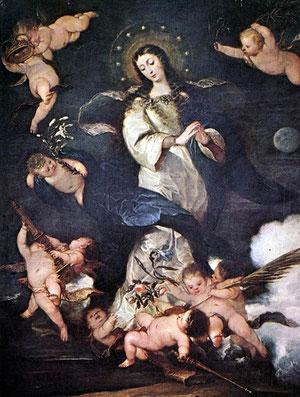 José Antolinez, Inmaculada Concepción,1666,Museo Lázaro Galdiano
