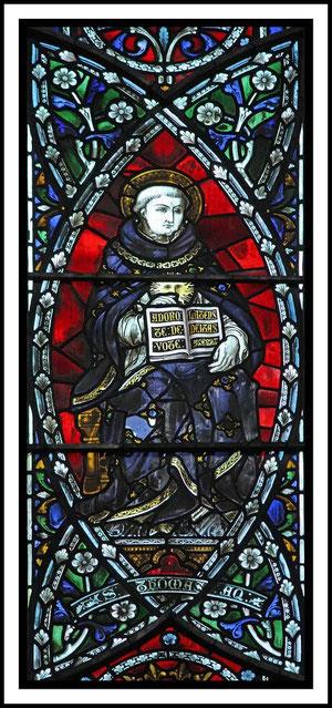 Vitrales de Santo Tomás de Aquino