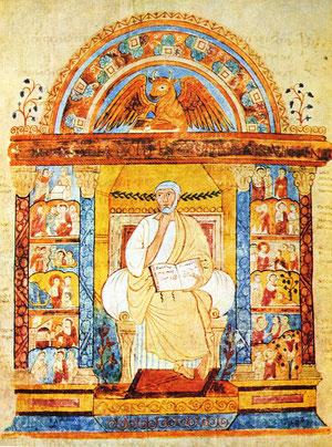 Taller de Aquisgrán, Evangelio según San Marcos, Biblioteca de Berlín