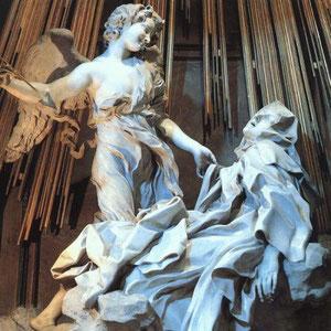 Éxtasis de Santa Teresa. Bernini.1646. Santa Maria della Vittoria,Roma