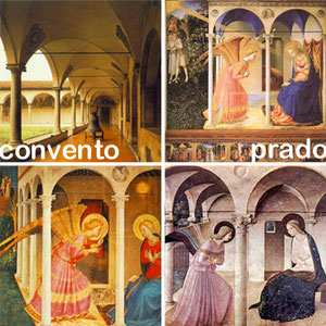 Las 3 Anunciaciones más conocidas de Fra Angélico y el claustro del convento de San Marcos