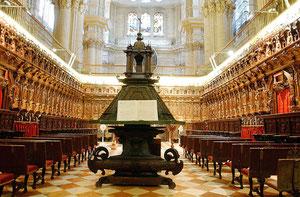 Sillería del coro de la Catedral de Málaga.1630-1660