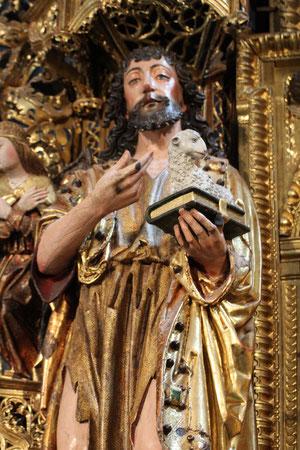 Detalle de S Juan Bautista. N 18