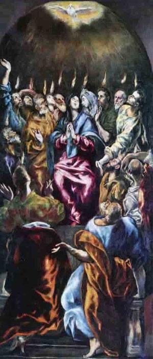 El Greco. Pentecostés