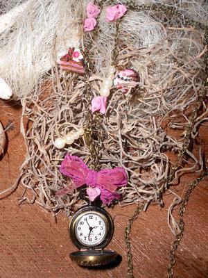 Clock Spitzepink