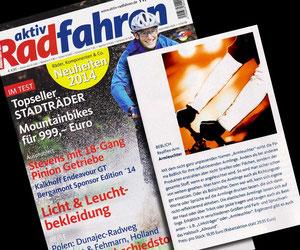 "Magazin ""aktiv Radfahren"""