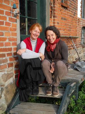 Anne-Katrin und Claudia