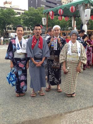 H26.6.7 郡上踊りin京都