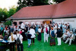 ehemaliger Künstlerhof Buch der Akademie der Künste 2003