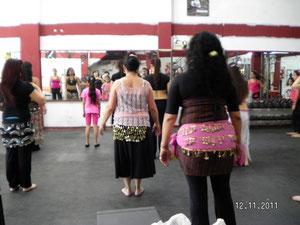 Seminario a Cargo de la bailaria y profesora Iternacional Tasnim Masi