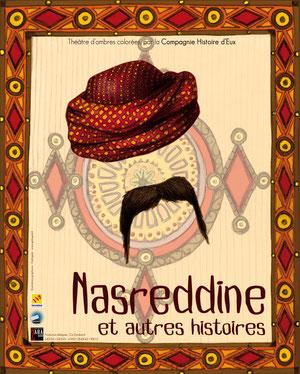 affiche du spectacle Nasredine et autres histoires