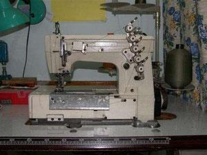 Maquina recubridora industrial