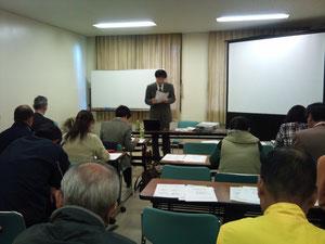 橋本先生の講義
