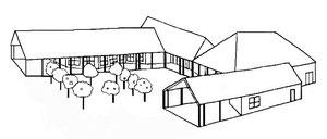 Plan de la Maison des Associations de Crisolles