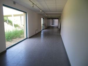 La galerie d'exposition
