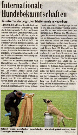Badische Zeitung, Juni 2006