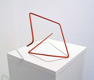 Andrea Ridder: ligne rouge, 2013