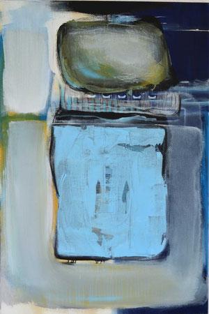 Andrea Ridder, O.T. 1, 2011, Acryl & Airbrush, 90 x 60 cm