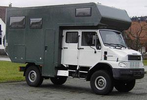 ka-mobile Ausbau Bremach zum Expeditionsmobil