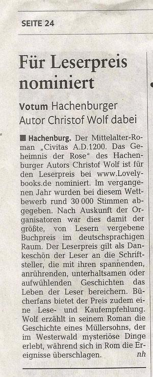 Rheinzeitung F 16.12.2011