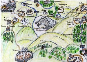 Karte aus Civitas