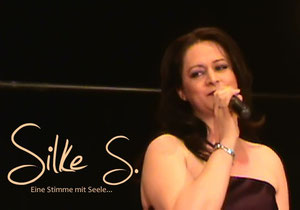 Sängerin Silke live