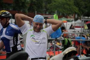 Sparda Triathlon 08.07.2012 beim ersten Wechsel