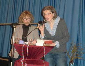 Frau Scheller und Frau Jensen