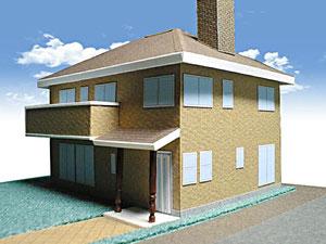 タバコ 箱 住宅 家 模型