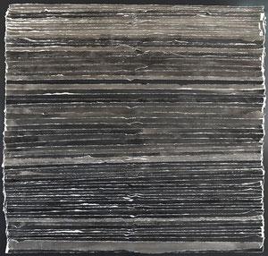 Schichtung 100 x 100 cm