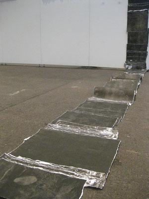Schichtung 450 x 40 cm