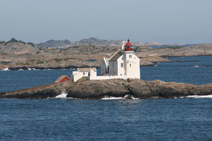 Leuchtturm vor Kristiansand