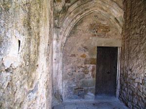 Porche de l'ancienne église
