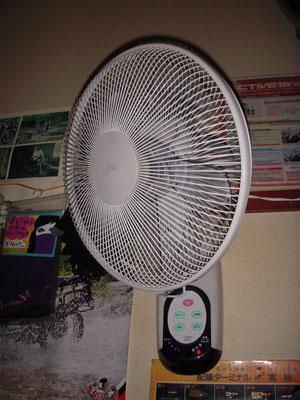 扇風機 完備!!