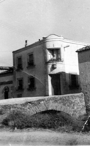 Foto antigua de la casa