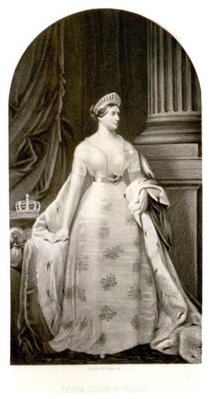 プロイセン王妃ルイーゼ、ホルツシュティヒ、1876年