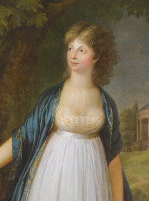 プロイセン王妃ルイーゼ(1799年 ヴィルヘルム・ボーター