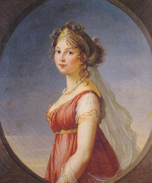 プロイセン王妃ルイーゼ ヴィジェ・ルブラン夫人作(1801年)