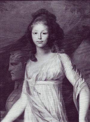 プロイセン王太子妃ルイーゼ、ティシュバイン、1796年