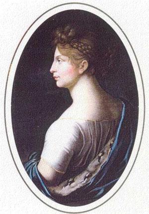 プロイセン王妃.ルイーゼ、ヨーハン・ハインリヒ・シュローダー、1806年