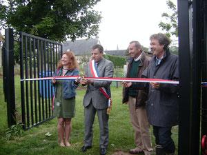 juin 2011 inauguration des jardins