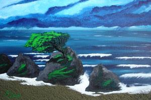 Oregon Coast, 2006 (Acryl auf Leinwand, 40x60)