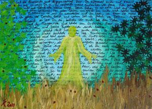 Psalm 139, 2011 (Acryl auf Leinwand 40x60)